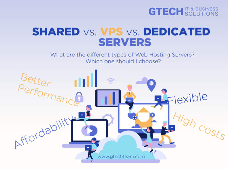 Shared Hosting vs. VPS vs. Dedicated Hosting