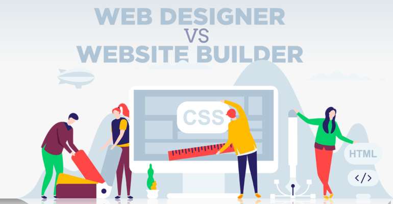 Website Wars: Designer vs. Builder