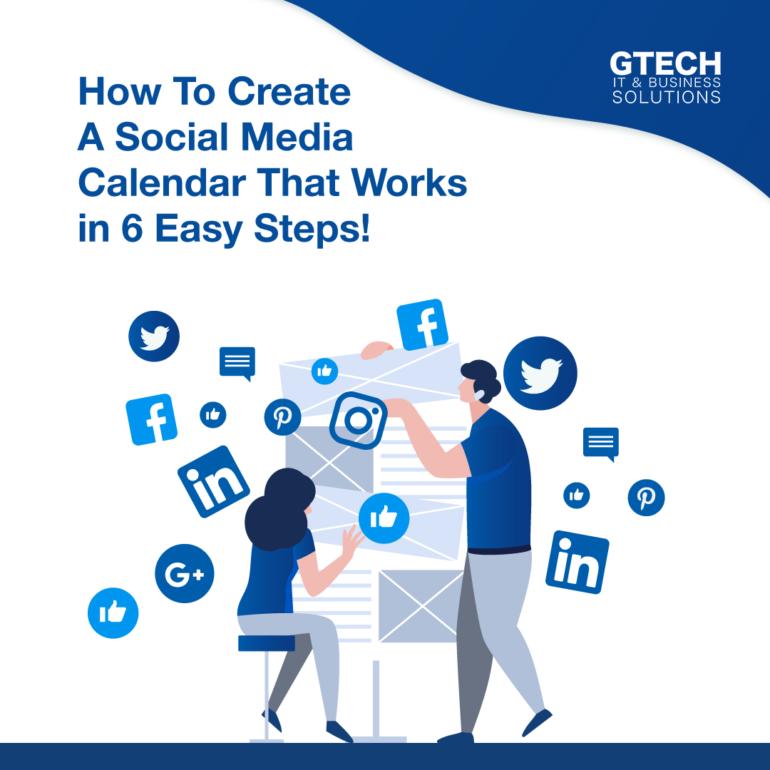 Create A Social Media Calendar In 6 Easy Steps!